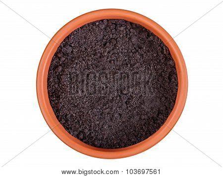 Flower Pot With Soil