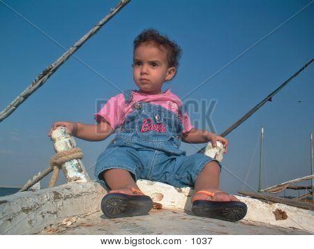 Baby Sailing