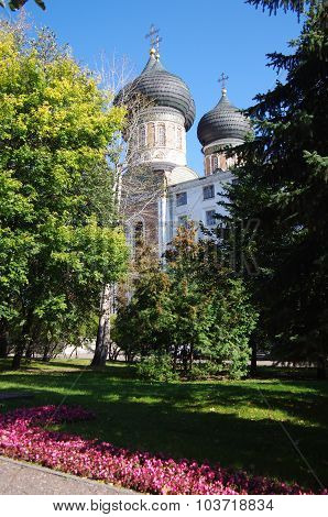 Moscow, Russia - September 23, 2015: The Estate Of The Romanovs In Izmailovo