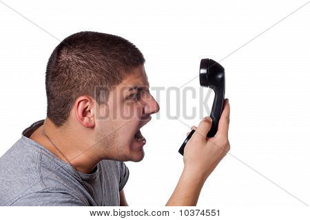 Angry Phone Conversation