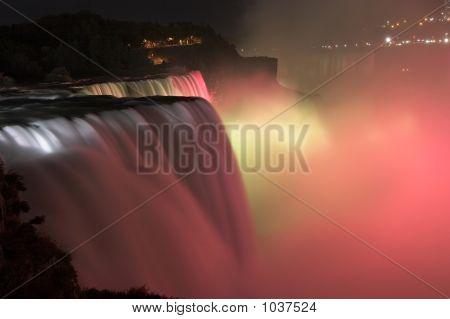 Niagara Falls By Night