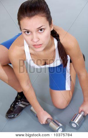 Sportliche Mädchen