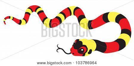 cartoon king-snake