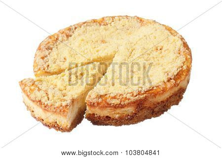 Cheesecake With Cut Sector