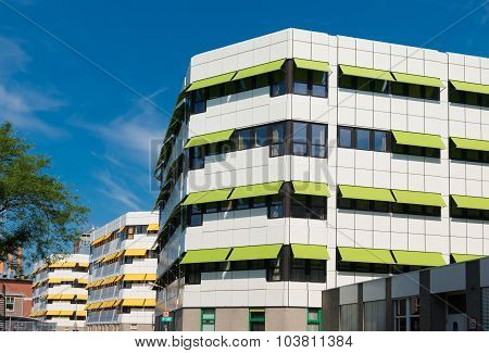 Green And Yellow Sunblinds