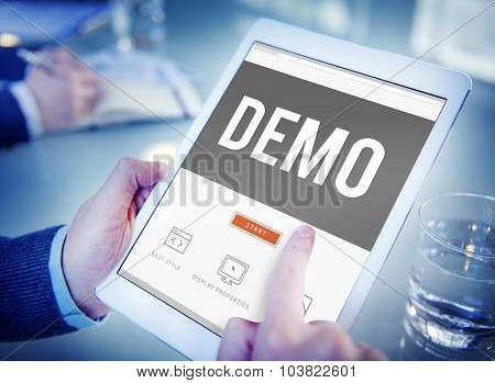 Demo Preview Trailer Trial Ideal Concept