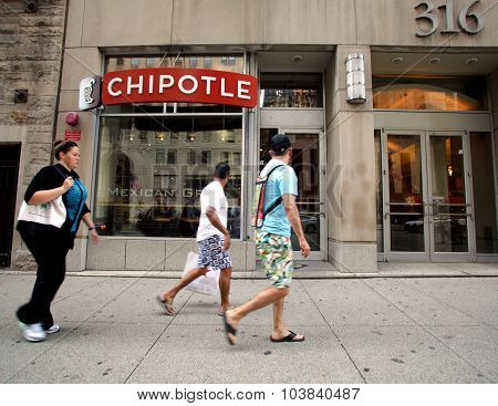 Chipotle Fast Food Restaurant