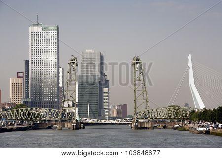 Rotterdam Cityscape South Bank
