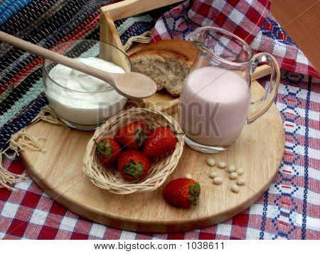 Milk And Strawberry