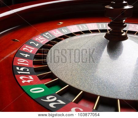 Old Roulette wheel. casino series.