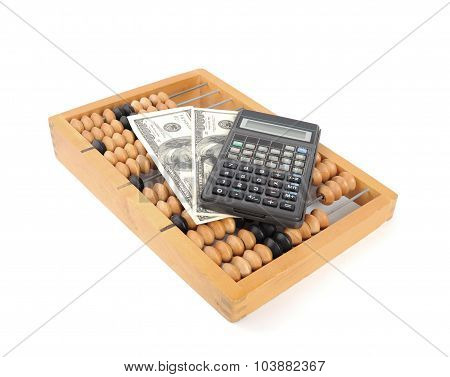 Abacus. Business Concept