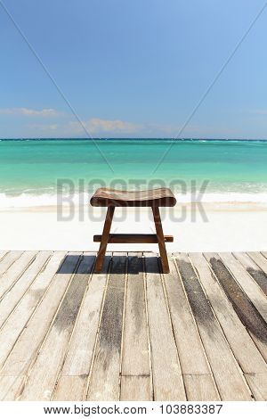 stool beach paradise