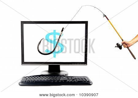 internet phishing and fake Commercial