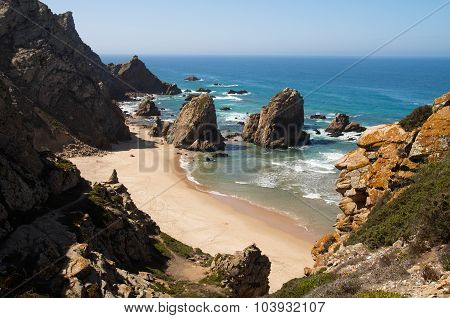 Perspective Of Ursa Beach, Cape Roca