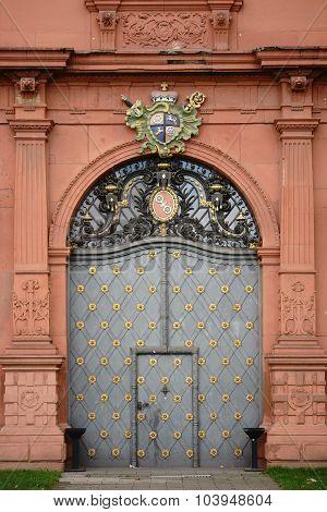 Entrance Electoral Palace Mainz