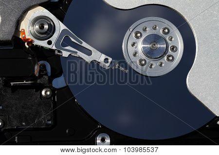 Hard drive disk.