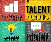 Talent Skill Experience Expertise Professional Concept poster