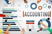 Accounting Finance Auditing Money Banking Concept poster