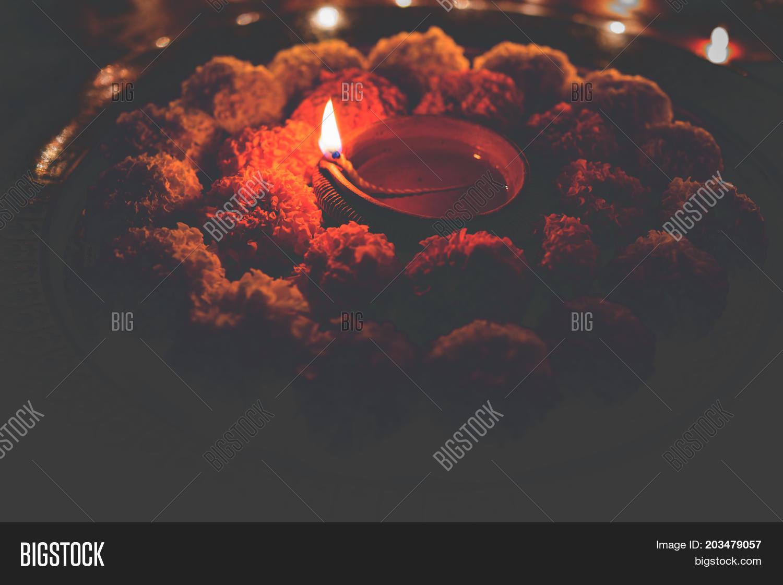 Flower Rangoli Diwali Image Photo Free Trial Bigstock