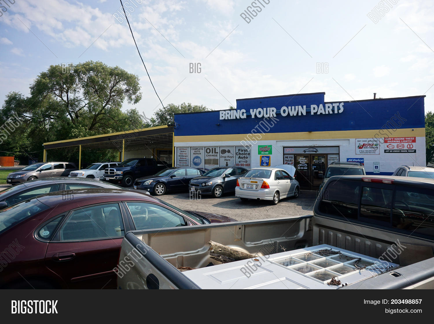 Bring Your Own Parts Auto Repair >> Crest Hill Illinois Image Photo Free Trial Bigstock