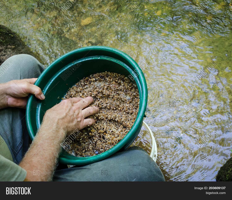 Gold Panning Gem Image & Photo (Free Trial) | Bigstock