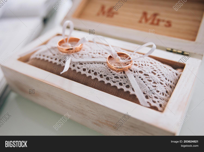 Golden Wedding Rings Image Photo Free Trial Bigstock