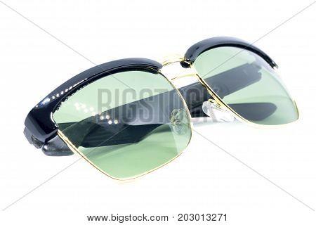 Black Sunglasses On White.