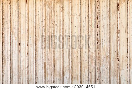Old White Rusted Corrugated Metal Wall Texture