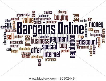 Bargains Online, Word Cloud Concept 2