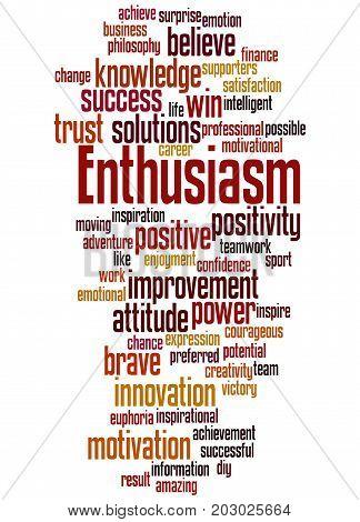 Enthusiasm, Word Cloud Concept 6