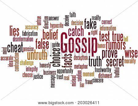 Gossip, Word Cloud Concept 5
