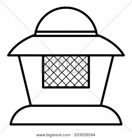 Beekeeper icon. Outline illustration of beekeeper vector icon for web design isolated on white background