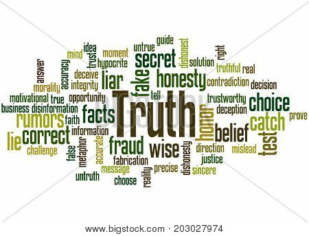 Truth, Word Cloud Concept 6