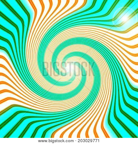 Abstract coloring background of the horizon gradient with wave,disco,twirl and lighting effects