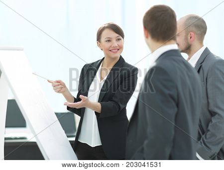 Business colleagues in conference meeting room