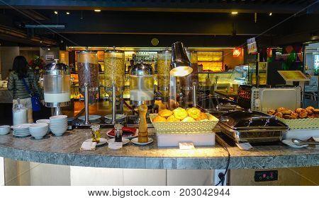 Buffet Restaurant In Bangkok, Thailand