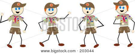 Boy Scout Kids