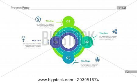 Smart goals setting strategy slide template. Business data. Graph, diagram, design. Creative concept for infographic, report. Can be used for topics like planning, creativity, research