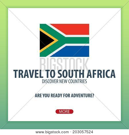 Travel To South Africa. Discover And Explore New Countries. Adventure Trip.