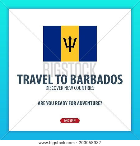 Travel To Barbados. Discover And Explore New Countries. Adventure Trip.