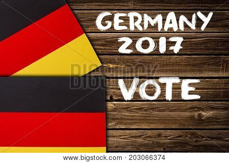 Election In Germany, 2017. Politics Concept