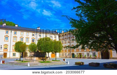 The central place in Salzburg city , Austria