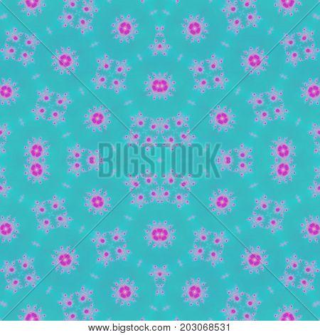 Beautiful pastel seamless ornate dreamy shabby chic design texture