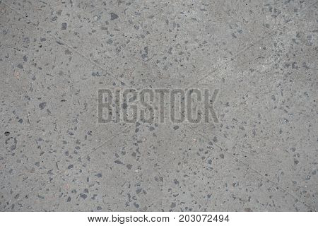 Blank Flat Grey Concrete Slab From Above