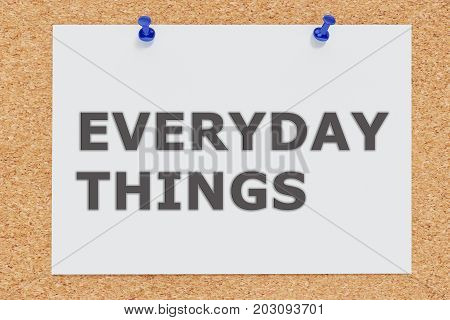 Everyday Things Concept