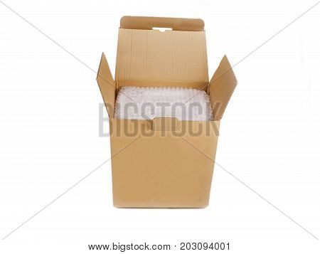 Empty Carton Box Open