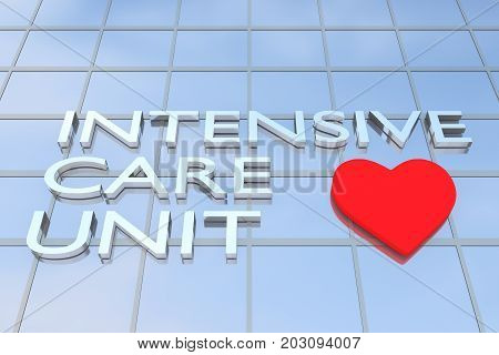 Intensive Care Unit (icu) Concept