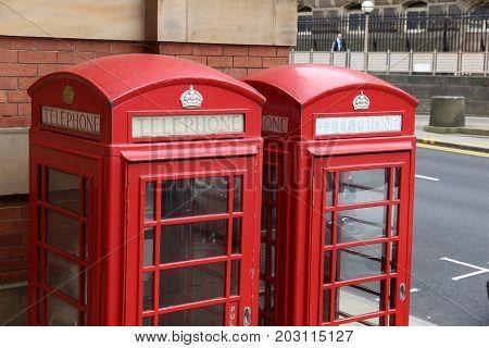 Leeds Red Telephone