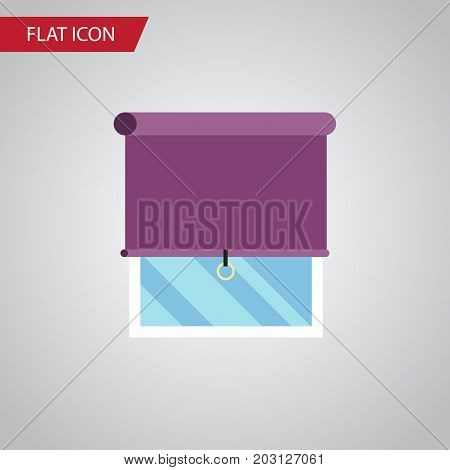Glazing Vector Element Can Be Used For Balcony, Window, Curtain Design Concept.  Isolated Balcony Flat Icon.