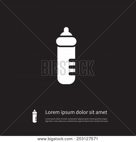 Infant Nutrition Vector Element Can Be Used For Feeder, Infant, Nutrition Design Concept.  Isolated Feeder Icon.